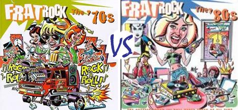 Dueling Discs, Vol. 1: Frat Rock 70s vs Frat Rock80s