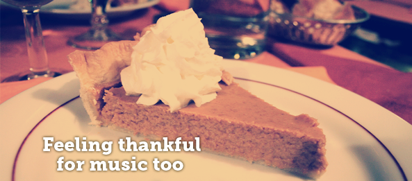 Hey! Let's Give Thanks to Music.