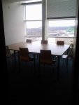 Buh-bye, conference room! Thanks for all the conferencin'!
