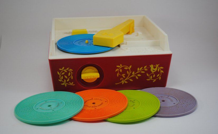 Murfie now digitizes plastic Fisher Price records!