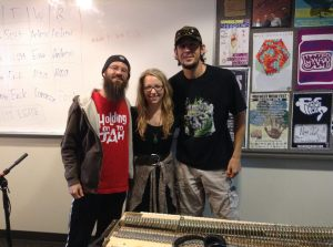Harrison and Marcus from Groundation on Kayla's radio show!